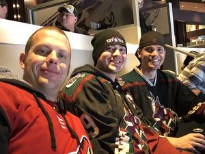 Sean attended Arizona Coyotes vs. Columbus Blue Jackets - NHL on Feb 7th 2019 via VetTix