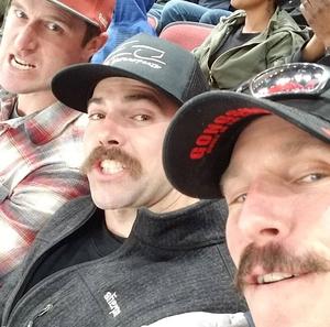 Brennan attended Arizona Coyotes vs. Columbus Blue Jackets - NHL on Feb 7th 2019 via VetTix