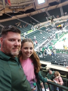 Ryan attended University of South Florida Bulls vs. Temple University Owls - NCAA Men's Basketball on Feb 16th 2019 via VetTix