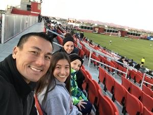 Ben attended 2019 Mobile Mini Sun Cup - Phoenix Rising vs. Sporting Kansas City on Feb 7th 2019 via VetTix