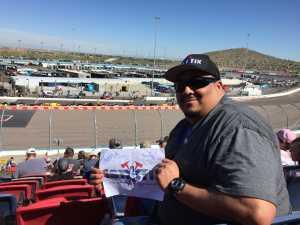 Michael attended TicketGuardian 500 NASCAR - ISM Raceway - Sunday Only on Mar 10th 2019 via VetTix