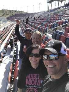 Trevin attended TicketGuardian 500 NASCAR - ISM Raceway - Sunday Only on Mar 10th 2019 via VetTix