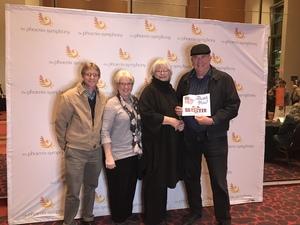 John attended The Phoenix Symphony - Broadway and Beyond with Matt Doyle on Feb 9th 2019 via VetTix