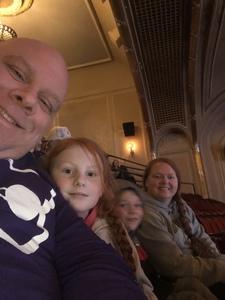 Steve attended Disney's Dcappella - Other on Feb 8th 2019 via VetTix