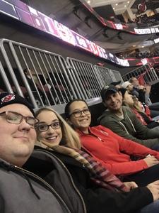 cody attended New Jersey Devils vs. New York Islanders - NHL on Feb 7th 2019 via VetTix