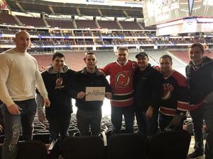 Steven attended New Jersey Devils vs. New York Islanders - NHL on Feb 7th 2019 via VetTix