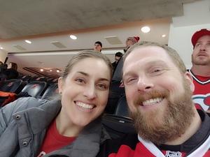 Sean attended New Jersey Devils vs. Carolina Hurricanes - NHL on Feb 10th 2019 via VetTix