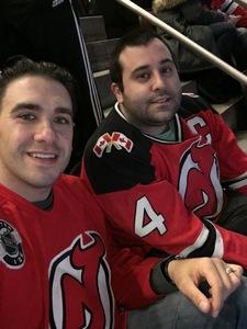 Salvatore attended New Jersey Devils vs. Carolina Hurricanes - NHL on Feb 10th 2019 via VetTix