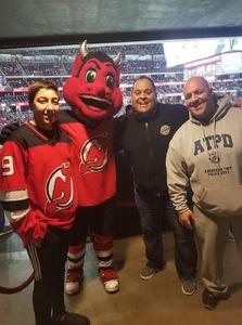 Frank attended New Jersey Devils vs. Minnesota Wild - NHL on Feb 9th 2019 via VetTix