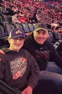 Gerry attended New Jersey Devils vs. Minnesota Wild - NHL on Feb 9th 2019 via VetTix