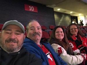 Theresa attended New Jersey Devils vs. Minnesota Wild - NHL on Feb 9th 2019 via VetTix