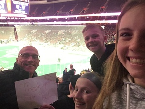 John attended Philadelphia Wings vs. Colorado Mammoth - National Lacrosse League on Feb 9th 2019 via VetTix