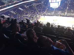 Jerry attended Phoenix Suns vs. Golden State Warriors - NBA on Feb 8th 2019 via VetTix