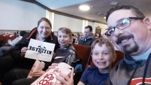 E Scotch attended Disney's Dcappella - Other on Feb 13th 2019 via VetTix