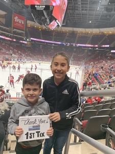 Ed attended Arizona Coyotes vs. St. Louis Blues - NHL on Feb 14th 2019 via VetTix