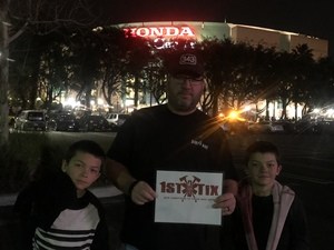 Jonathan attended Kiss: End of the Road World Tour - Pop on Feb 12th 2019 via VetTix
