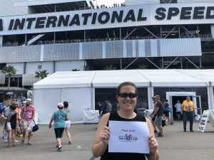 Christa attended 61st Annual Monster Energy Daytona 500 - NASCAR Cup Series on Feb 17th 2019 via VetTix