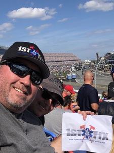 Brian attended 61st Annual Monster Energy Daytona 500 - NASCAR Cup Series on Feb 17th 2019 via VetTix