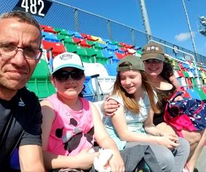 Anthony attended 61st Annual Monster Energy Daytona 500 - NASCAR Cup Series on Feb 17th 2019 via VetTix