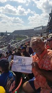 William attended 61st Annual Monster Energy Daytona 500 - NASCAR Cup Series on Feb 17th 2019 via VetTix