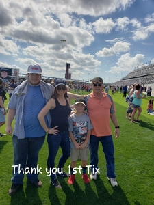 Georgia attended 61st Annual Monster Energy Daytona 500 - NASCAR Cup Series on Feb 17th 2019 via VetTix