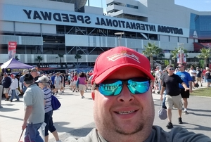 Patrick attended 61st Annual Monster Energy Daytona 500 - NASCAR Cup Series on Feb 17th 2019 via VetTix