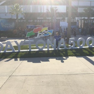 Craig attended 61st Annual Monster Energy Daytona 500 - NASCAR Cup Series on Feb 17th 2019 via VetTix