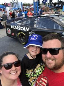 Kyle attended 61st Annual Monster Energy Daytona 500 - NASCAR Cup Series on Feb 17th 2019 via VetTix