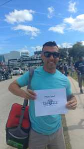 Benny attended 61st Annual Monster Energy Daytona 500 - NASCAR Cup Series on Feb 17th 2019 via VetTix