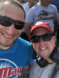 Kevin attended 61st Annual Monster Energy Daytona 500 - NASCAR Cup Series on Feb 17th 2019 via VetTix