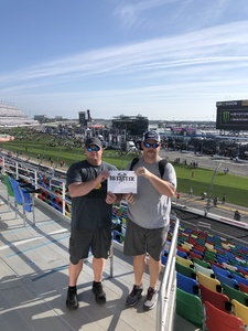 Robert attended 61st Annual Monster Energy Daytona 500 - NASCAR Cup Series on Feb 17th 2019 via VetTix