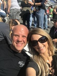 Jeff attended 61st Annual Monster Energy Daytona 500 - NASCAR Cup Series on Feb 17th 2019 via VetTix