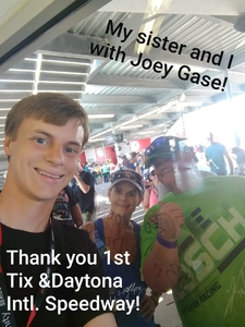 Laurie attended 61st Annual Monster Energy Daytona 500 - NASCAR Cup Series on Feb 17th 2019 via VetTix
