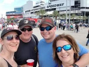 Chris attended 61st Annual Monster Energy Daytona 500 - NASCAR Cup Series on Feb 17th 2019 via VetTix