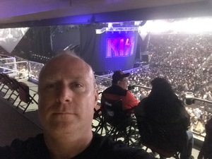 David attended Kiss: End of the Road World Tour on Feb 13th 2019 via VetTix