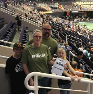 JASON WHELAN attended Arizona Rattlers vs. Sioux Falls Storm - IFL on Mar 31st 2019 via VetTix