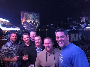 Stephen attended Kiss - End of the Road Tour on Feb 15th 2019 via VetTix