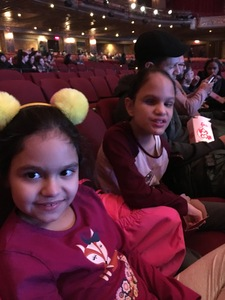 Carla attended Disney's Dcappella - Other on Feb 16th 2019 via VetTix