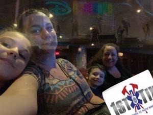 Robert attended Disney's Dcappella - Other on Feb 16th 2019 via VetTix
