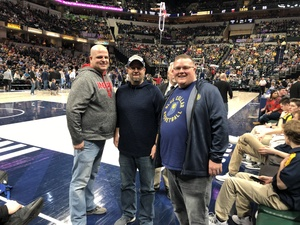 Jason Able attended Indiana Pacers vs. Milwaukee Bucks - NBA on Feb 13th 2019 via VetTix
