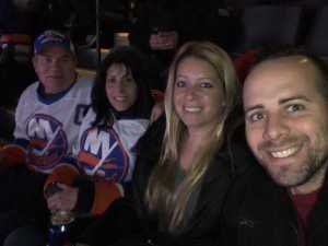 Melissa attended New York Islanders vs. Ottawa Senators - NHL on Mar 5th 2019 via VetTix