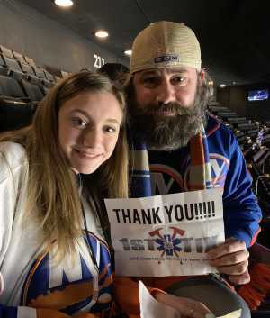 Brian attended New York Islanders vs. Ottawa Senators - NHL on Mar 5th 2019 via VetTix