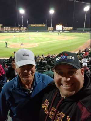 John attended Honor Row - Arizona State University Sun Devils vs. Xavier - NCAA Men's Baseball on Mar 9th 2019 via VetTix