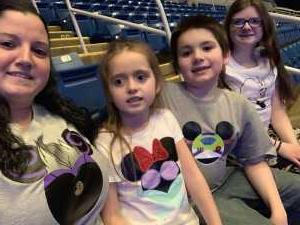 Camellia attended Disney On Ice: Worlds of Enchantment on Mar 7th 2019 via VetTix