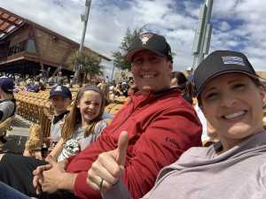Jobe attended Chicago White Sox vs. Colorado Rockies- GA Lawn Seating on Mar 2nd 2019 via VetTix