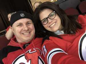 Allison attended New Jersey Devils vs. Philadelphia Flyers - NHL on Mar 1st 2019 via VetTix