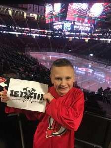 Ryan attended New Jersey Devils vs. Philadelphia Flyers - NHL on Mar 1st 2019 via VetTix