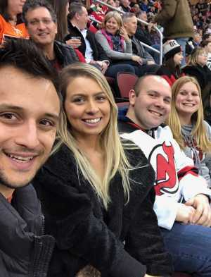 Anthony attended New Jersey Devils vs. Philadelphia Flyers - NHL on Mar 1st 2019 via VetTix