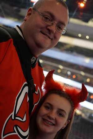 Charles attended New Jersey Devils vs. Philadelphia Flyers - NHL on Mar 1st 2019 via VetTix