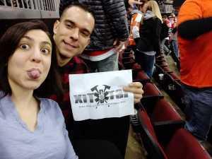 Steven attended New Jersey Devils vs. Philadelphia Flyers - NHL on Mar 1st 2019 via VetTix